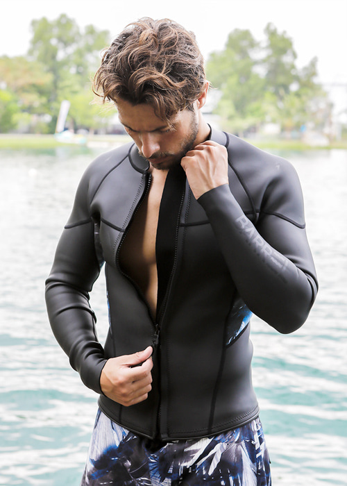 [5%쿠폰]배럴 맨 코스트 2mm 네오프렌 자켓 V2 BARREL 2MM COAST NEOPRENE JACKET V2__BLACK/MIST_NB68220F