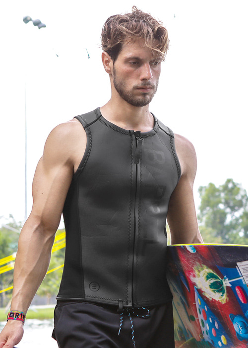 5%쿠폰/배럴 맨 2mm 네오프렌 집업 베스트/BARREL 2MM NEOPRENE ZIP-UP VEST(BWHMNPT003)_BALCK_NB6828BK/S2B6828BK