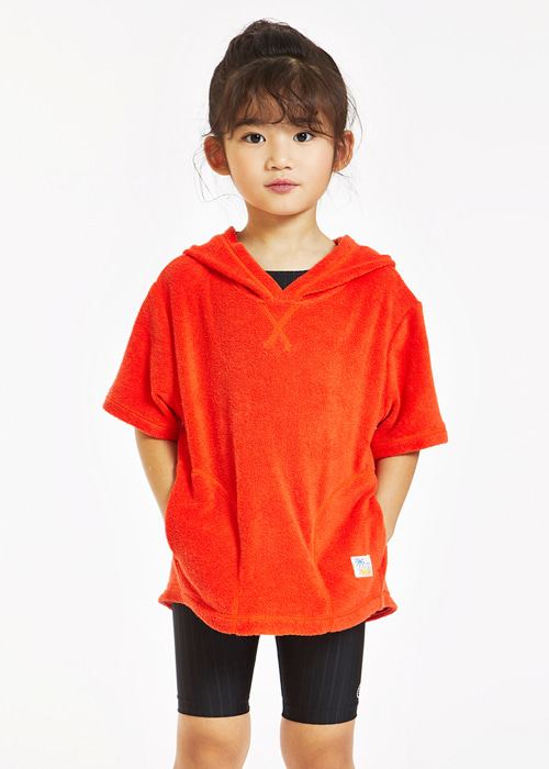 5%쿠폰/배럴 키즈 테리 후디/BARREL KIDS UNISEX TERRY HOODIE(BCHKHDT001)_RED_SB6801RE
