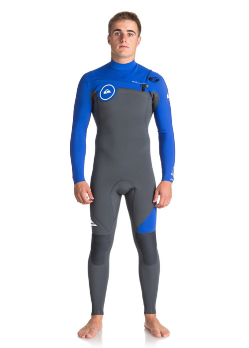 퀵실버 남성 전신 웻슈트 체스트집 3mm #NQS8120U / XKPW QUIKSILVER MENS WET SUIT  EQYW103038 3/2 SYNCRO SERIES CZ GBS
