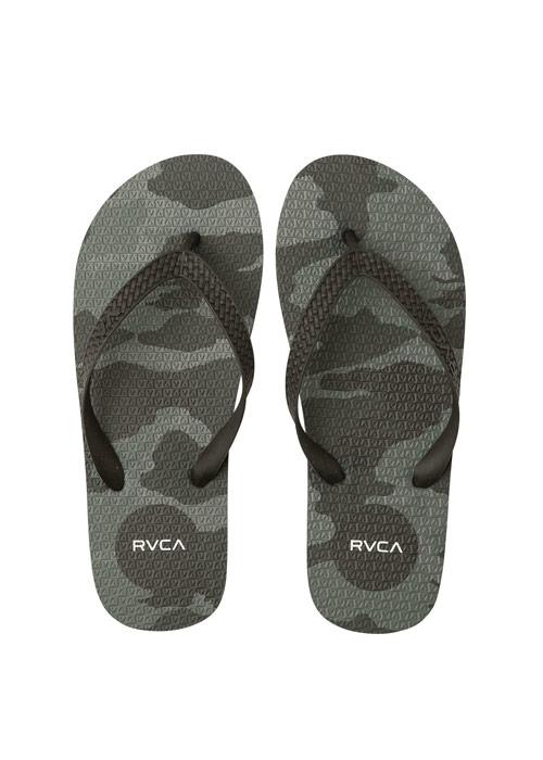 RVCA/루카 플립플랍 샌들 #WRA8021U / BKC (BLACK CAMO) RVCA SLEEPER SANDAL MFOTNRSL