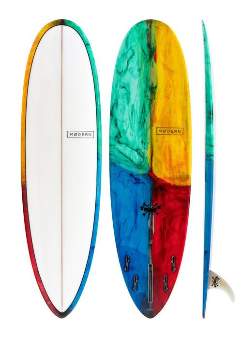 모던 서핑 롱보드 7'0/7'6 러브 차일드 PU 칼리도스코프1 /KALEIDOSCOPE TINT 1 MODERN 7'0/7'6 MD LOVE CHILD PU MD-LOVEPU-0700-KAL