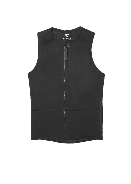 비슬라 남성 웻슈트 베스트 자켓 2mmVISSLA FRONT ZIP VEST STEALTH_NVS802SO / STEALTH
