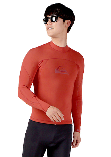 퀵실버 맨 웻슈트 자켓 2mm#NQS425F9  / CNH0 QUIKSILVER_MENS WET SUIT 2MM IGNITE MONOCHROME LS JACKET GBS