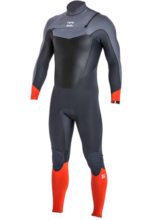 빌라봉 전신 웻슈트 앱솔루트 3mm 체스트집#NBI714OR / ORG BILLABONG_ MENS WET SUIT MWFUGAC3 ABSOLUTE 3/2 CHEST ZIP FULL