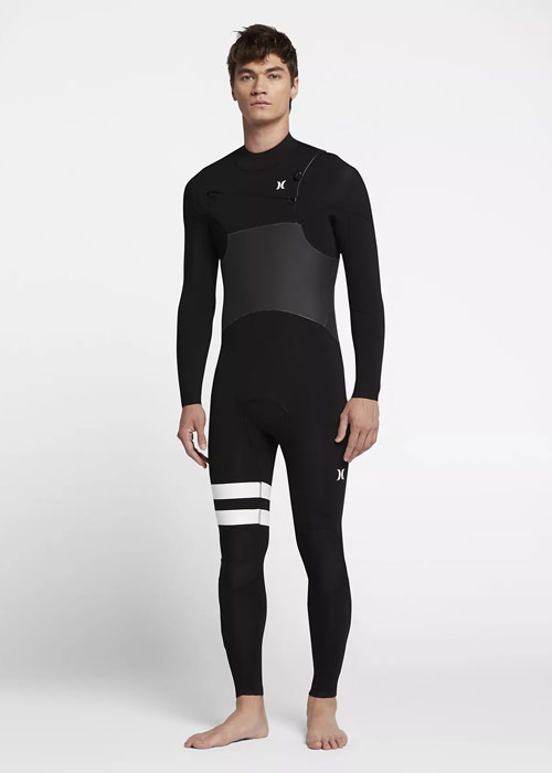 헐리 남성 전신 스프링 웻슈트 5mm #NHU807BK / 00A (BLACK) HURLEY MENS WET SUIT MFS0000580 ADVANTAGE PLUS 5/3 MM SPRINGSUIT