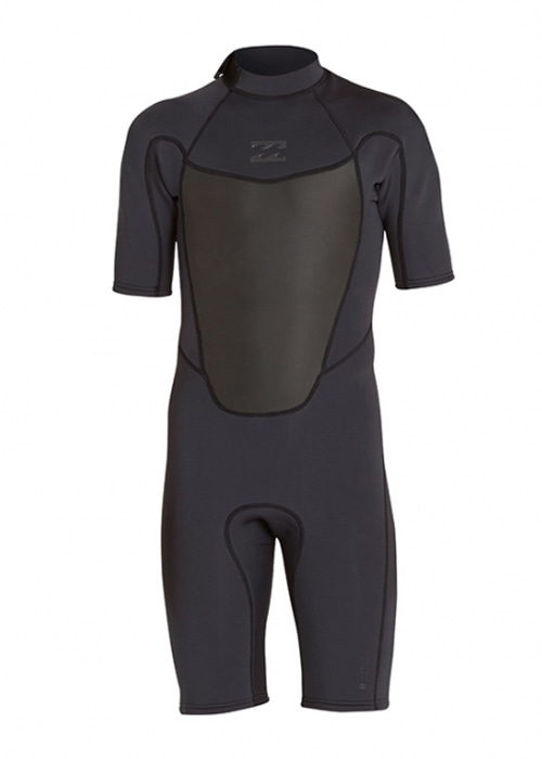 빌라봉 남성 전신 웻슈트 2mm #NBI826BK / BLK BILLABONG MENS WET SUIT MWSPNBAB 202 ABSOLUTE COMP SS F/L B/ ZIP SPRING