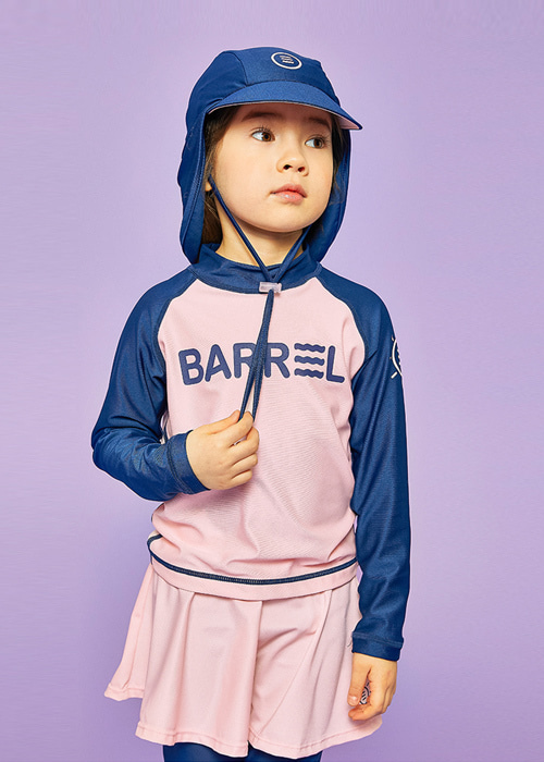 [5%쿠폰]배럴 키즈 배럴 아쿠아 캡 V3 BARREL KIDS BARREL AQUA CAP V3_BWICCAA007_NAVY/BRIGHT PINK_IB69182N [44]